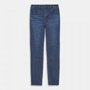 J Brand Alana High Rise Cropped Skinny Jean