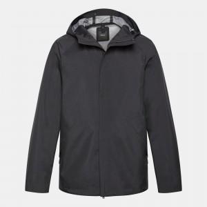 Triple-Layer Poplin Hooded Jacket