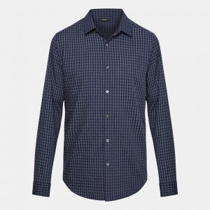 Gingham Standard-Fit Shirt