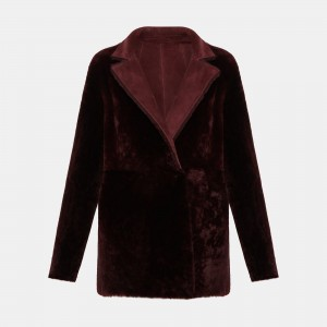 Reversible Shearling Clairene Jacket