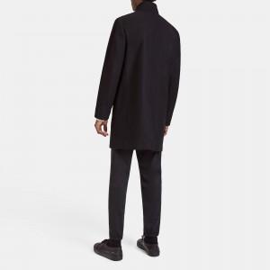 Stretch Melton Belvin Coat