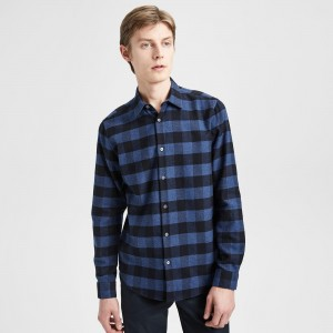 Checked Cotton Standard-Fit Shirt