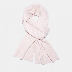 Ribbed Cashmere Oversized Scarf