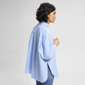 Fort Stripe Relaxed Button-Down