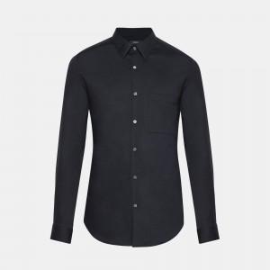 Brushed Cotton Standard-Fit Shirt