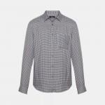 Brushed Gingham Standard-Fit Shirt