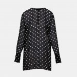 Polka Dot Fluid Tunic