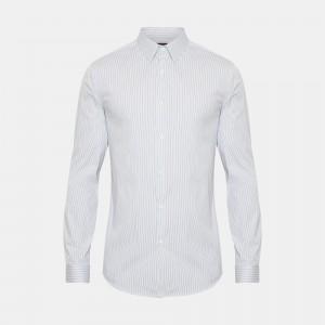 Wealth Cotton Pinstripe Sylvain Shirt