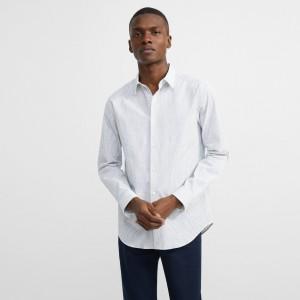 Cotton Striped Irving Shirt