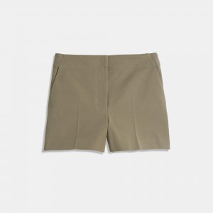 Double Stretch Cotton Mini Short