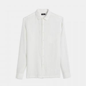 Summer Linen Long-Sleeve Irving Shirt