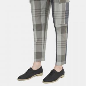 Linen Lace-Up Shoe