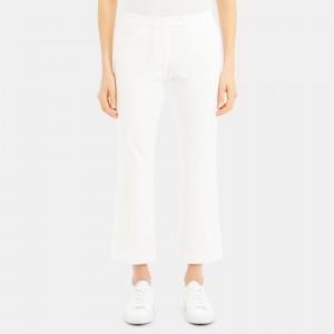 Double Stretch Cotton Crop Pant