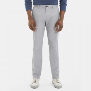 Stretch Cotton Slim-Straight Pant