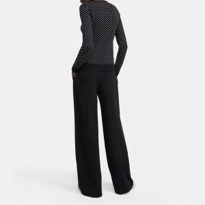 Crewneck Sweater in Polka Dot Regal Wool