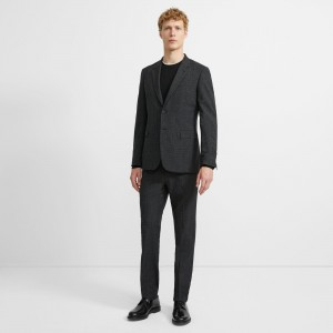 Wool Checkerboard Chambers Suit