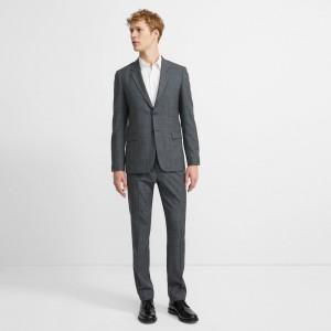 Wool Glen Plaid Chambers Suit