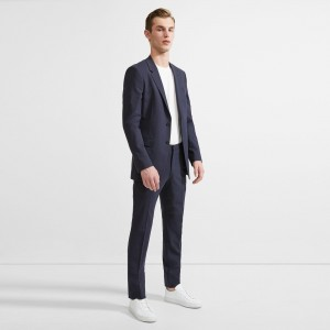 Sartorial Stretch Wool Chambers Suit
