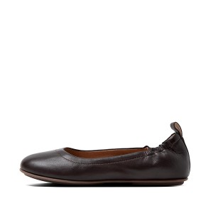 Womens ALLEGRO Leather Ballet Flats