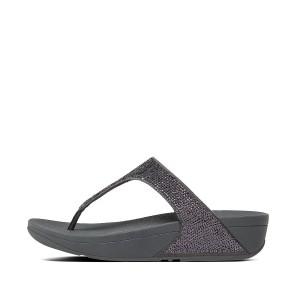 Womens ELECTRA Microfibre Toe-Post Sandals