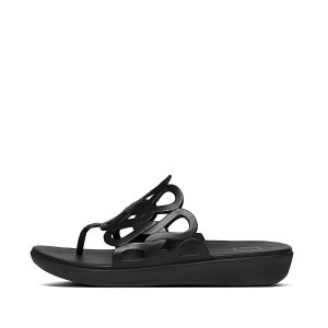 Womens Elodie Leather Toe-Thongs