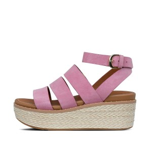 Womens Eloise Suede Back-Strap-Sandals