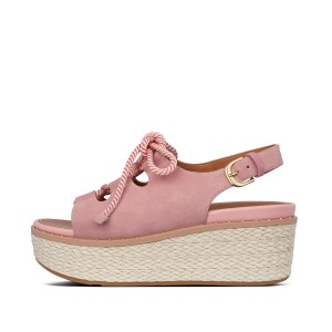 Womens Fay Suede Back-Strap-Sandals