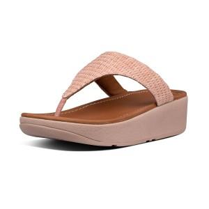 Womens Imogen Raffia Toe-Post Sandals