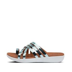 Womens Lola Rubber Toe-Post Sandals