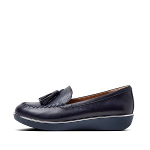Womens Petrina Leather Loafers