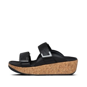 Womens Remi Leather Slides