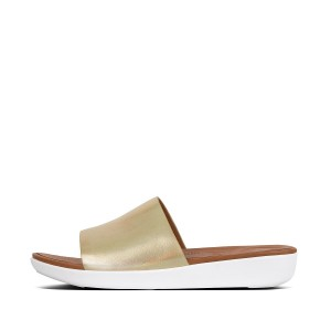 Womens SOLA Leather Slides
