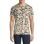 Printed Crewneck Cotton T-Shirt