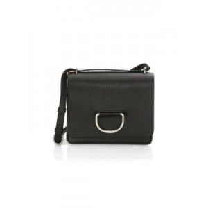 Small D-Ring Leather Crossbody Bag