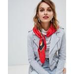 ALDO Acolla red printed scarf