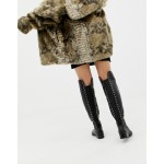 ALDO Jereicia Stud Leather Over The Knee Boots