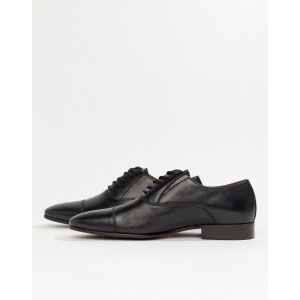 ALDO Legawia toe cap lace up shoes in black leather