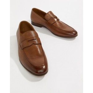 ALDO Umiasen penny loafers in tan leather