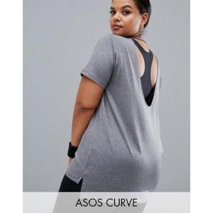 ASOS 4505 Curve scoop back t-shirt
