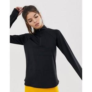 ASOS 4505 long sleeve top with zip front