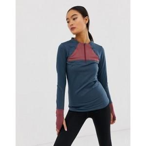 ASOS 4505 warmth long sleeve mid layer run top