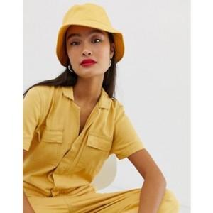 ASOS DESIGN cotton bucket hat
