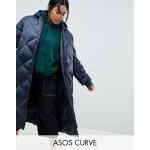 ASOS DESIGN Curve longline puffer jacket