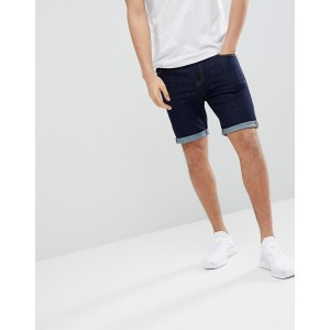 ASOS DESIGN Denim Shorts In Super Skinny Indigo