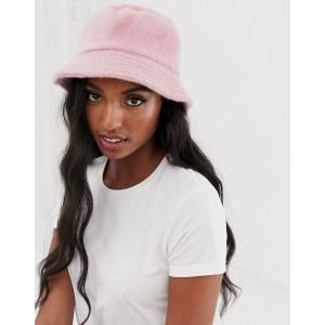ASOS DESIGN Fluffy Bucket Hat