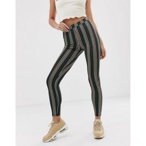 ASOS DESIGN legging in stripe print
