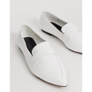 ASOS DESIGN Limber pointed loafer ballet flats