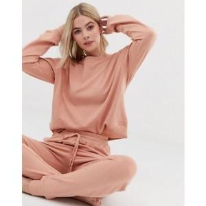 ASOS DESIGN lounge organic cotton knitted jogger