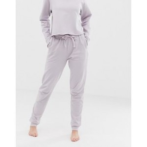 ASOS DESIGN lounge organic cotton mid-rise relaxed jogger