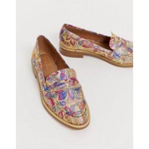 ASOS DESIGN Mantra loafer flat shoes